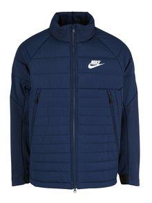 Tmavomodrá pánska prešívaná bunda Nike Sportswear Fill