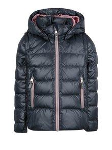 Tmavomodrá dievčenská funkčná bunda s odnímateľnými rukávmi Reima Minna