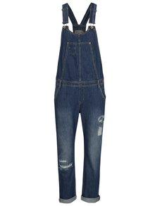 Modré dámské džínové lacláče Garcia Jeans