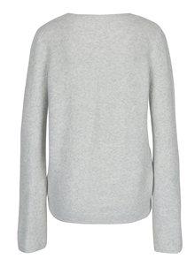 Pulover gri cu deolteu anchior pentru femei  Garcia Jeans