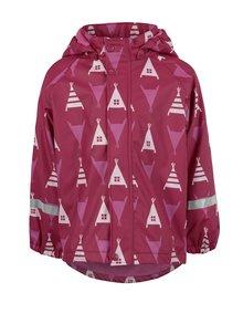 Ružová dievčenská funkčná bunda s kapucňou Reima Koski
