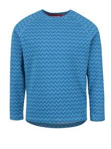 Modré dievčenské funkčné tričko s dlhým rukávom Reima Tiptoe