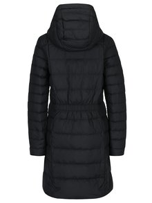 Čierny dámsky prešívaný páperový kabát Nike Sportswear Fill