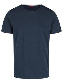 Tmavomodré pánske tričko s krátkym rukávom s.Oliver