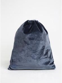 Modrý dámský sametový vak Mi-Pac Kit Bag Velvet