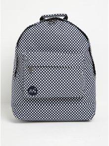 Tmavě modrý dámský puntíkovaný batoh Mi-Pac Microdot 17 l