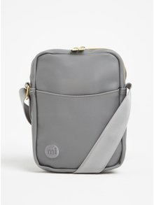 Šedá pánská crossbody taška Mi-Pac Flight Bag Rubber