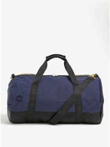 Čierno-modrá cestovná taška Mi-Pac Duffel Canvas Tumbled 30l