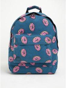 Modrý batoh s potiskem koblih Mi-Pac Doughnut 17 l