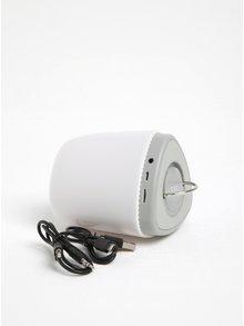 Biely svetelný reproduktor meniaci farbu Loooqs