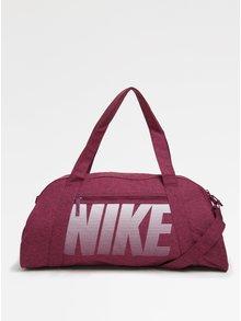 Ružová dámska športová taška s potlačou Nike Gym Club