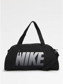 Čierna športová taška s potlačou Nike Gym Club 30 l