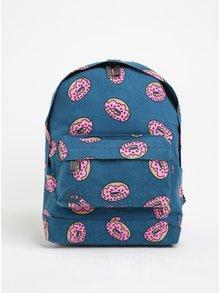 Modrý detský batoh s potlačou šišiek Mi-Pac Mini Doughnut 10,5 l