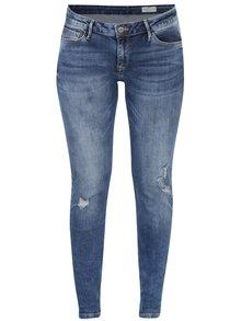 Blugi albaștri cu aspect deteriorat Cross Jeans