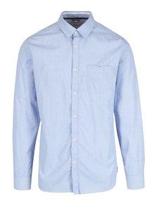 Světle modrá puntíkovaná slim fit košile Selected Homme Xoneterra