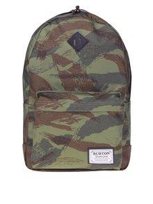 Zelený unisex vzorovaný batoh Burton Kettle 20 l