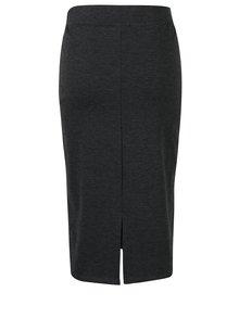 Tmavosivá puzdrová sukňa Broadway Michon