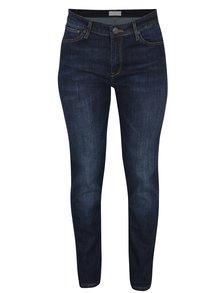 Tmavě modré dámské high waist slim fit džíny s vysokým pasem Cross Jeans