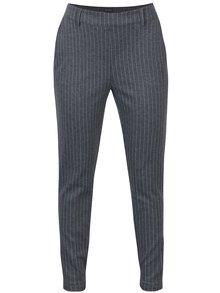 Tmavě šedé dámské pruhované kalhoty Broadway Danelle