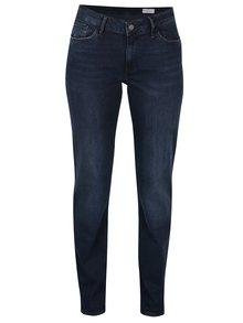 Modré dámske high waist regular fit rifle s vysokým pásom Cross Jeans