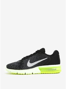 Černo-žluté pánské tenisky Nike Air Max Sequent