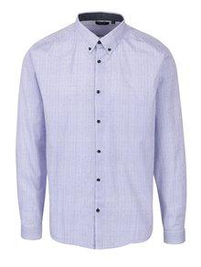 Modrá pánská vzorovaná košile Broadway Oriol