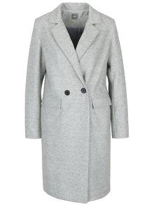 Svetlosivý melírovaný kabát ZOOT