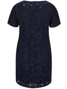 Tmavomodré čipkované šaty LA Lemon