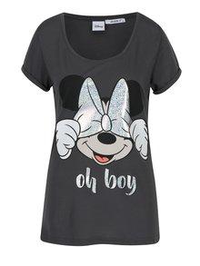 Šedé tričko s krátkým rukávem Haily´s Boy