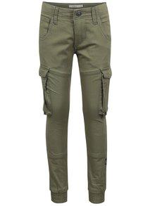 Zelené klučičí kalhoty s kapsami name it Bamgo