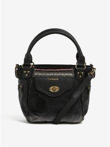 Čierna kabelka do ruky Desigual Mcbee Mini Blackout