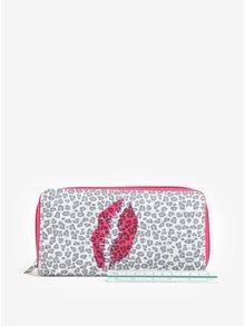 Ružovo-sivá vzorovaná peňaženka Haily´s Hit
