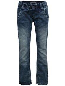 Tmavě modré klučičí džíny s vyšisovaným efektem name it Bamos