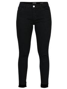 Černé zkrácené regular waist ally džíny Haily´s Ally