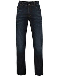 Tmavomodré pánske relaxed fit rifle Cross Jeans