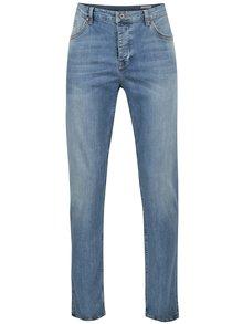 Tmavě modré pánské regular tapered fit džíny Cross Jeans