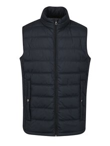 Tmavě modrá prošívaná vesta Jack & Jones Body