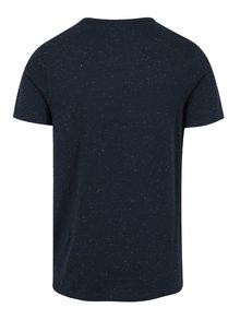 Tmavomodré tričko s výšivkou Jack & Jones Ben