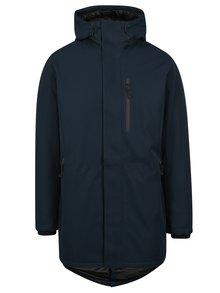 Tmavě modrá zimní nepromokavá bunda Jack & Jones North Point