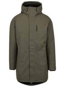 Geacă parka khaki impermeabilă Jack & Jones North Point