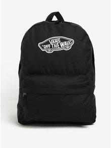 Rucsac negru cu aplicație tip logo - VANS Realm 22 l