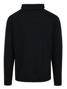 Čierna regular fit mikina s vysokým golierom Blend