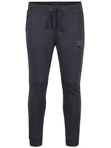 Pantaloni gri închis cu print  Blend