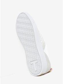 Pantofi sport albi din piele naturala - Ted Baker Kulei