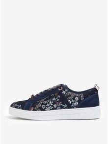 Pantofi sport bleumarin cu broderie florală fină - Ted Baker Sorcey