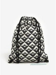 Rucsac negru unisex cu model geometric - VANS Benched Novelty