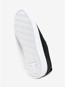 Pantofi sport negri din catifea - Ted Baker Kulei