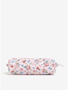 Ružový peračník s potlačou kvetín a víl Cath Kidston