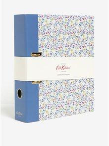 Krémovo-modrý květovaný šanon Cath Kidston