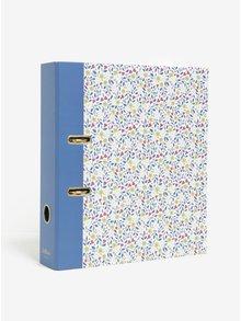Krémovo–modrý kvetovaný šanon Cath Kidston
